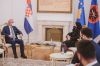 Presidentja Osmani priti në takim ministrin kroat për punë të Jashtme dhe Çështje Evropiane Gordan Grlić Radman 4