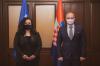 Presidentja Osmani priti në takim ministrin kroat për punë të Jashtme dhe Çështje Evropiane Gordan Grlić Radman 2