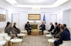 Predsednik Thaçi dočekao rukovodioca američkog DIR-a: Učlanjenje u NATO brže zbog odlučujuće uloge SAD-a
