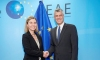 Upon the request of President Thaçi, the EU observes the elections of October 6th