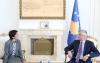 Presidenti Thaçi priti Drejtoreshën për Evropën Kontinentale të Ministrisë për Evropë dhe Punë të Jashtme  të Francës