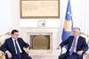 Presidenti Thaçi priti sekretarin për çështje ekonomike të MPJ së Greqisë