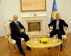 Presidenti Thaçi dekoroi kryetarin e Komitetit Olimpik të Kosovës me Medaljen Presidenciale të Meritave