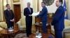 Presidenti Thaçi ia dorëzoi kryetarit Veseli projektligjin për Forcat e Sigurisë së Kosovës