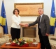 Atifete Jahjaga is elected the new President of the Republic of Kosovo