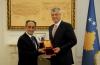 Presidenti Thaçi uron komunitetin rom për Ditën Ndërkombëtare të Romëve
