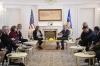 Presidenti Thaçi priti në takim lamtumirës gjeneralin Timothy Orr