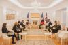 Presidentja Osmani priti në takim përfaqësuesit e Agjencisë franceze të zhvillimit (ADF)