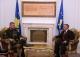 Ushtruesi i detyrës së Presidentit të Kosovës, dr. Jakup Krasniqi u takua me komandantin e FSK-së gjenerallejtënant Sylejman Selimi