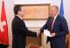 President Pacolli receives the Swiss Ambassador to Kosovo Mr. Lukas Beglinger