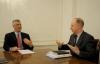 Presidenti Thaçi takon koordinatorin e programeve për zhvillim pranë UNDP, Andrew Russell