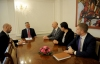 "President Thaçi hosted the Head of the ""Konrad Adenauer"" Foundation, office for Kosovo and Macedonia, Johannes Rey"