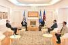 U.d. Presidentja Osmani priti në takim përfaqësuesin special të Norvegjisë për Ballkanin Perëndimor