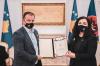 """U.d. Presidentja Osmani akordon urdhrin """"Shotë Galica"""", për 8 gra"""
