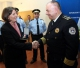 President Jahjaga visits the MIA and is conferred upon acknowledgments and medals