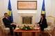 Predsednica Jahjaga je dočekala premijera Thaçi
