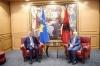 Presidenti Thaçi u prit në takim nga presidenti Meta