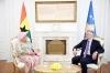 Predsednik Thaçi primio akreditivna pisma od ambasadorke Gane