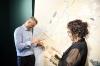 """Presidenti Thaçi vizitoi ekspozitën """"Qytetet e Paqes"""" në Muzeun e Kosovës"""