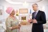 Presidenti Thaçi pranoi letrat kredenciale nga ambasadorja e Ganës