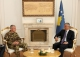 President Thaçi received the new KFOR Commander, Major General Giovanni Fungo