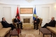 THE ACTING PRESIDENT OF KOSOVO DR. JAKUP KRASNIQI RECEIVED TODAY THE AMBASSADOR OF THE REPUBLIC OF ALBANIA TO THE NATO, MR. ARTUR KUKO