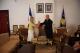 Presidenti Sejdiu priti ambasadoren e Francës, znj. Delphine Borione