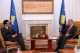 President Pacolli receives the Head of the OSCE Mission in Kosovo Werner Almhofer