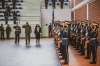 The speech of the acting President Osmani at the ceremony of the embarkation of the KSF contingent on their first peace mission abroad