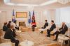 Në Ditën e Kushtetutës së Republikës së Kosovës, Presidentja Osmani bashkëbisedoi me profesorë të Katedrës Kushtetuese