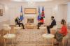 Presidentja Osmani priti në takim Ambasadorin Orlando