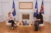 Presidentja Osmani takoi drejtoreshën për Evropë Juglindore në Ministrinë e Punëve të Jashtme të Gjermanisë Susanne Schütz