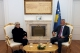 President Thaçi received in a farewell meeting the Ambassador of France in Kosovo, Maryse Daviet