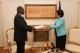 President Jahjaga received the Ambassador of Ghana to Turkey, accredited to Kosovo on non-residential basis, Mr.  Alhaji Ibrahim Abass