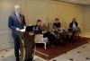 """Predsednik Thaçi učestvovao je u debati na temu: """"Javna percepcija Specijalnog suda Kosova: rizici i mogućnosti"""""""
