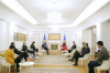 U.d. Presidentja takoi ambasadorët e Kuintit dhe të Zyrës së BE-së