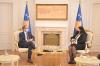U.d. e Presidentes së Kosovës, Vjosa Osmani priti në takim kryeministrin Avdullah Hoti
