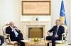 President Thaçi meets with the OSCE Secretary General Lamberto Zannier