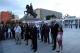 "Predsednica Jahjaga prisustvovala otvaranju izložbe "" 25 x 25 na Trg"""
