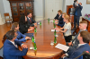 Presidentja Osmani pritet në takim nga kryeministrja e Estonisë, Kaja Kallas