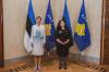 Presidentja Osmani u takua me Presidenten e Estonisë, znj. Kersti Kaljulaid_7