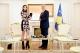 President Thaçi awards the Presidential Medal of Merits to singer Dua Lipa