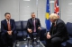 President Thaçi and the British Foreign Affairs Minister discuss the partnership between Kosovo and United Kingdom