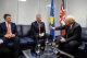Presidenti Thaçi dhe kryediplomati britanik flasin për partneritetin ndërmjet Kosovës dhe Britanisë