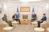 U.d. e Presidentes së Kosovës, Vjosa Osmani priti në takim ministrin e mbrojtjes Anton Qunin