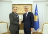 President Thaçi received Italian Ambassador, Piero Sardi, at a farewell meeting
