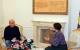 Na dočeku započete godine, Predsednica Jahjaga je razgovarala sa novinarima medija na Kosovu