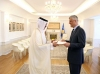 President Thaçi received the credentials from the Ambassador of Qatar
