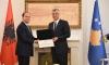 Presidenti Thaçi priti presidentin e Shqipërisë, Bujar Nishani