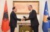 President Thaçi received the President of Albania, Bujar Nishani